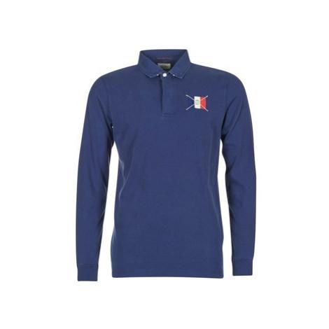 Serge Blanco POCHON men's Polo shirt in Blue