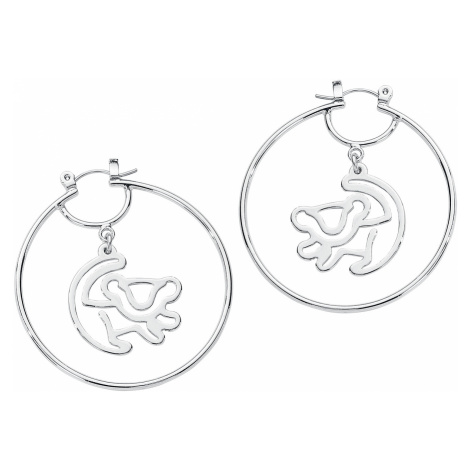 The Lion King - Disney by Couture Kingdom - Simba Hoop Earrings - Earpin set - silver-coloured