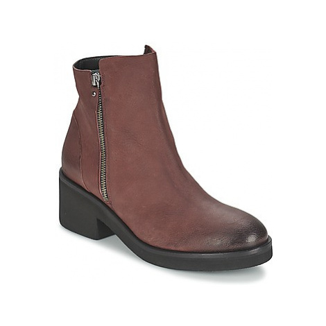 Vic ASCILLE women's Mid Boots in Red