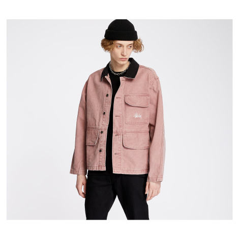 Stüssy Washed Chore Jacket Rose Stussy