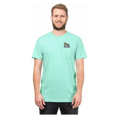 Horsefeathers GRENADE T-SHIRT light green - Men's T-shirt