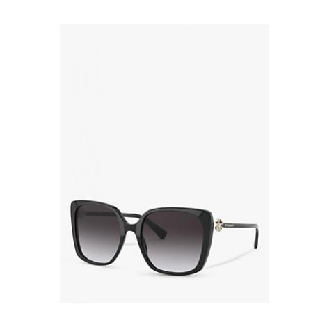 BVLGARI BV8225B Women's Square Sunglasses, Black
