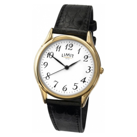 Mens Limit Gold PLated Classic Watch