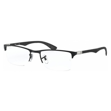 Ray-Ban Rb8413 Man Optical Lenses: Multicolor, Frame: Black - RB8413 2503 52-18