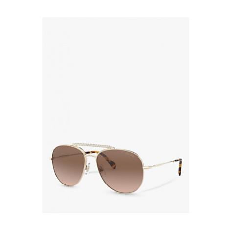 Miu Miu 53VS Aviator Sunglasses