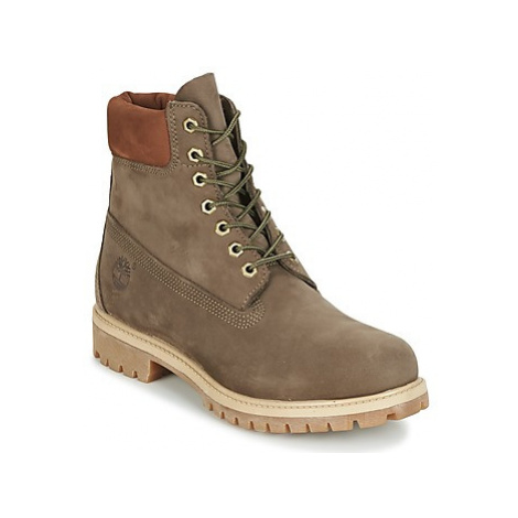 "Timberland 6"" Premium Boot men's Mid Boots in Brown"