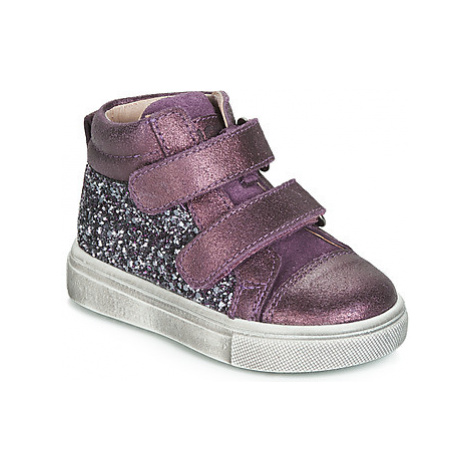 Acebo's 5299AV-LILA-J girls's Children's Shoes (High-top Trainers) in Purple