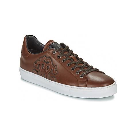 Roberto Cavalli 8317 men's Shoes (Trainers) in Brown