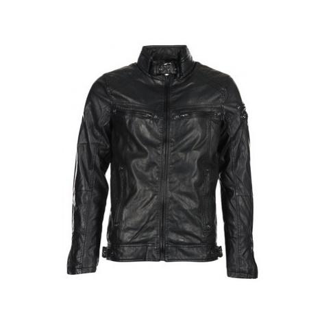 Deeluxe SPANGLE men's Leather jacket in Black