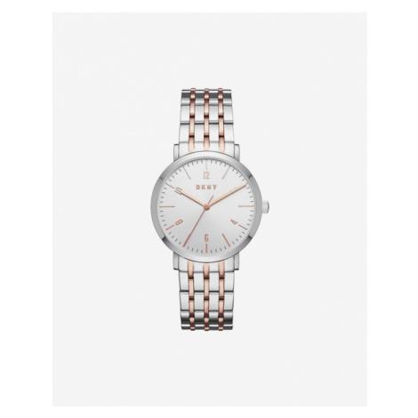 DKNY Minetta Watches Silver Beige