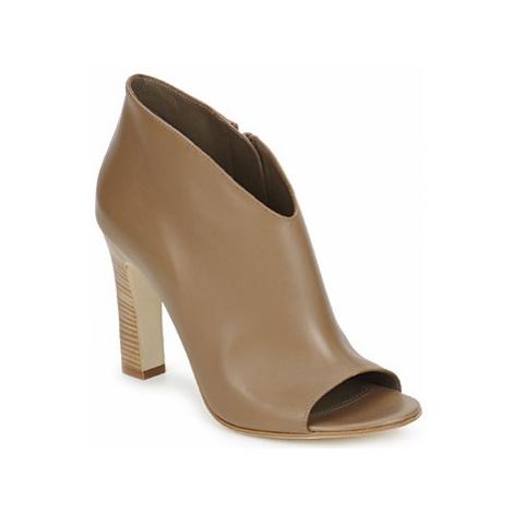 Jil Sander JS16334 women's Low Ankle Boots in Brown