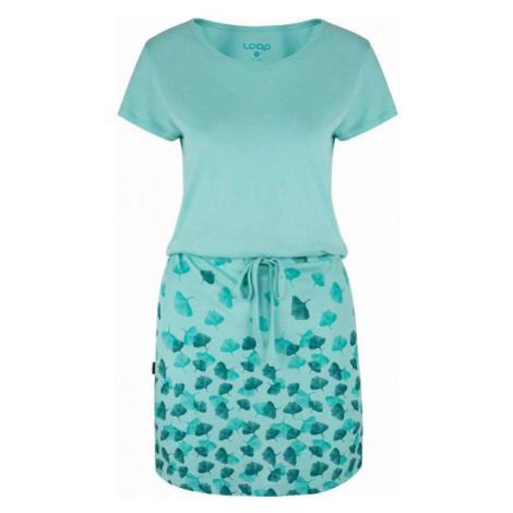 Loap ASCALA blue - Women's dress
