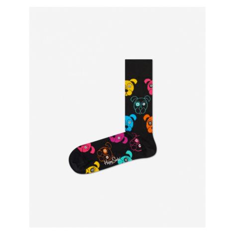 Happy Socks Dog Socks Black