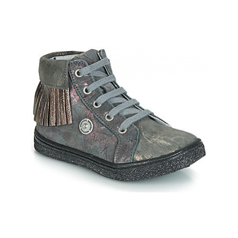 Catimini LOULOU girls's Children's Shoes (High-top Trainers) in Grey