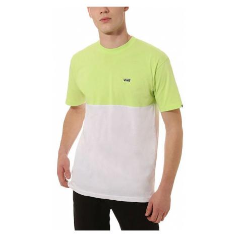 T-Shirt Vans Colorblock - Sharp Green/White - men´s