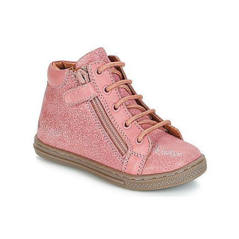 Aster LAMY girls's Children's Shoes (High-top Trainers) in Pink