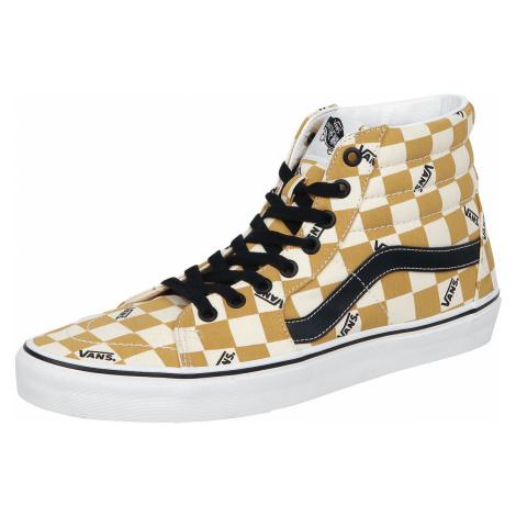 Vans - SK8-Hi Big Check - Sneakers - yellow