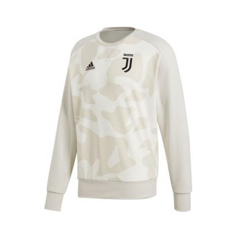 Juventus Seasonal Crew Sweat - White Camo Adidas