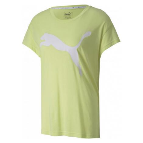 Puma ACTIVE LOGO TEE green - Women's sports t-shirt