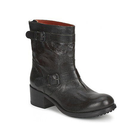Fru.it PINI women's Mid Boots in Black