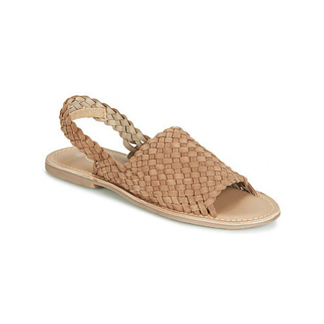 Spot on F00214 women's Sandals in Brown