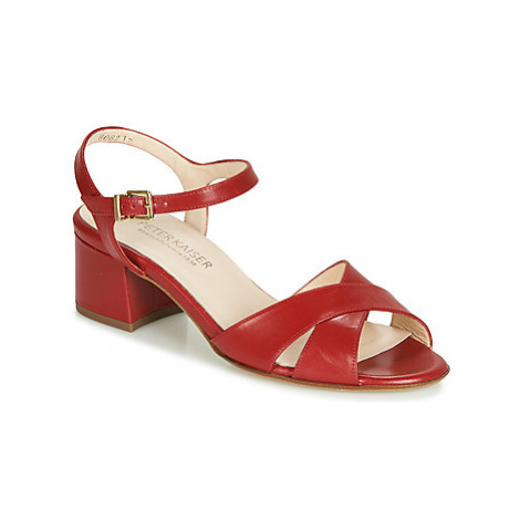 Peter Kaiser CELENA women's Sandals in Red