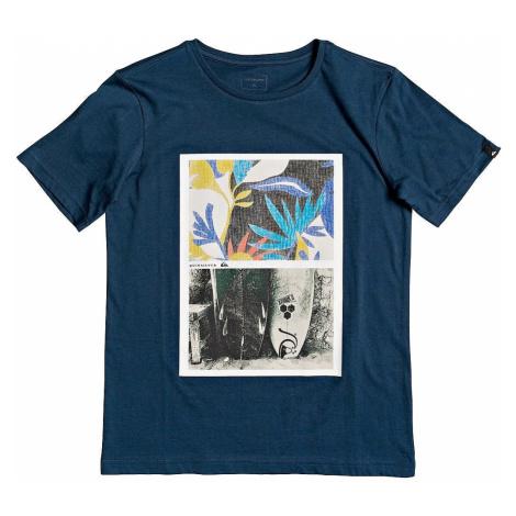 T-Shirt Quiksilver Oversized - BSM0/Majolica Blue - boy´s