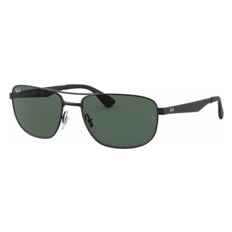 Ray-Ban Rb3528 Man Sunglasses Lenses: Green, Frame: Black - RB3528 006/71 61-17