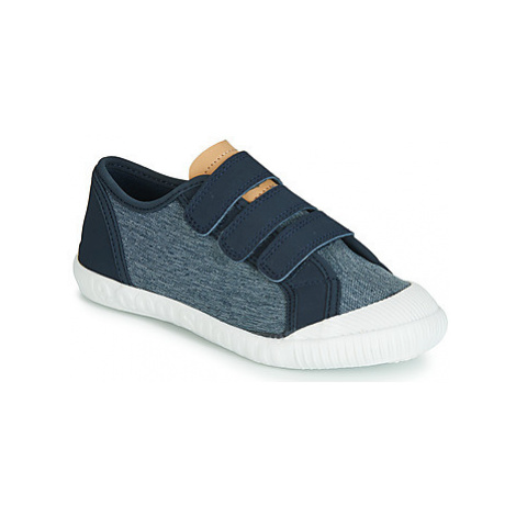 Le Coq Sportif NATIONALE PS boys's Children's Shoes (Trainers) in Blue