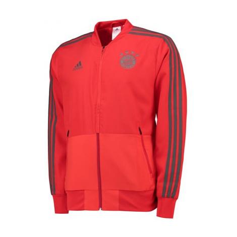 FC Bayern Training Presentation Jacket - Red Adidas