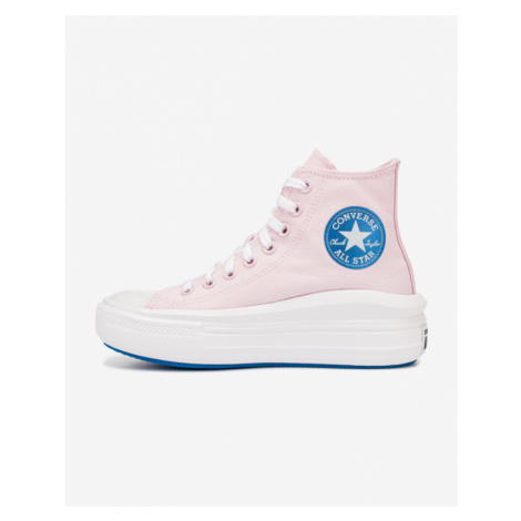 Converse Anodized Metals Chuck Taylor All Star Move Sneakers Pink