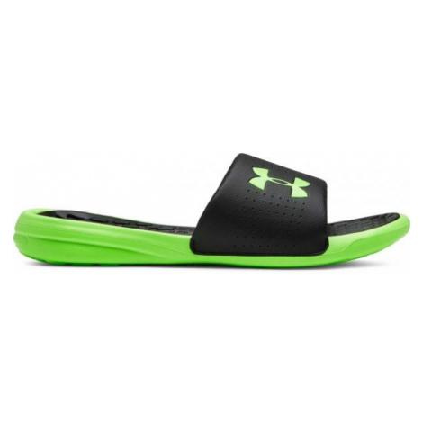 Under Armour UA PLAYMAKER FIX SL M green - Men's slippers