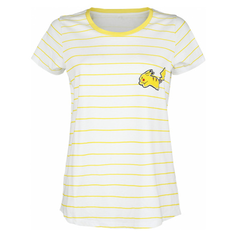 Pokémon - Pikachu - Girls shirt - yellow-white