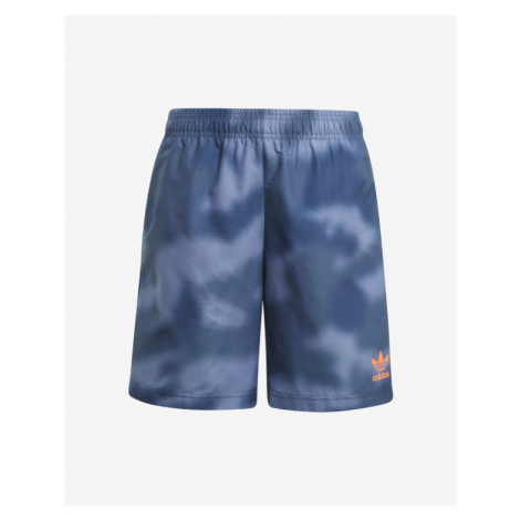 adidas Originals All-Over Print Kids Swimsuit Blue