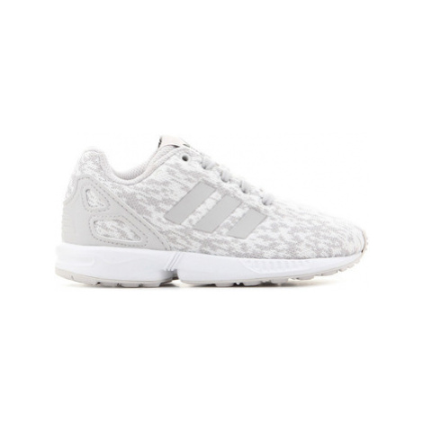 Adidas Adidas ZX Flux C BY9857 girls's Children's Shoes (Trainers) in Grey