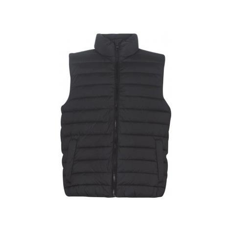 Calvin Klein Jeans MONOGRAM TAPE PADDED GILET men's Jacket in Black