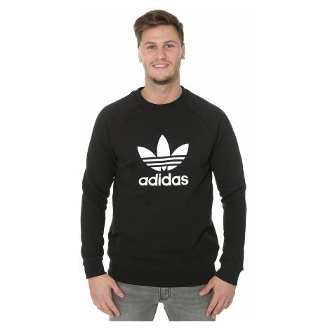 sweatshirt adidas Originals Trefoil Warm-Up Crew - Black