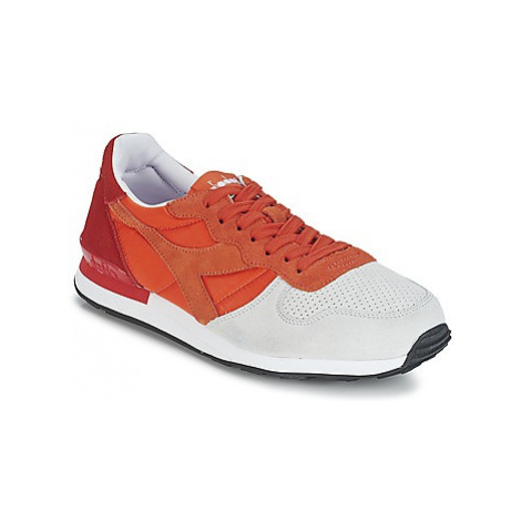 Diadora CAMARO DOUBLE II men's Shoes (Trainers) in Red