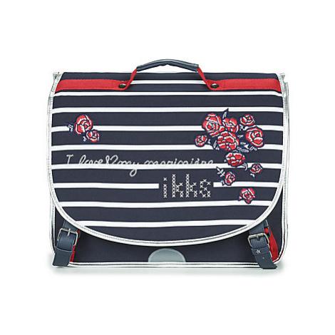 Ikks I LOVE MY MARINIERE CARTABLE 41 CM girls's Briefcase in Blue