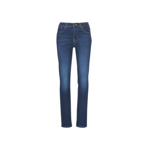 Levis 724 HIGH RISE STRAIGHT women's Jeans in Blue Levi´s