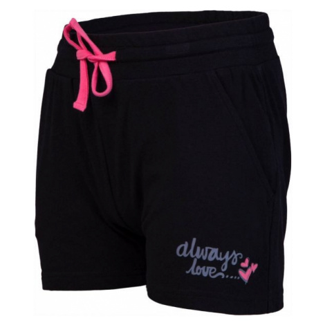 Lewro ORIANA black - Girls' shorts