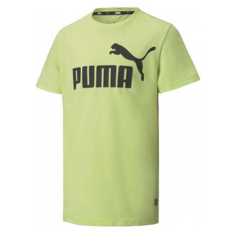 Puma ESS LOGO TEE B green - Men's T-Shirt