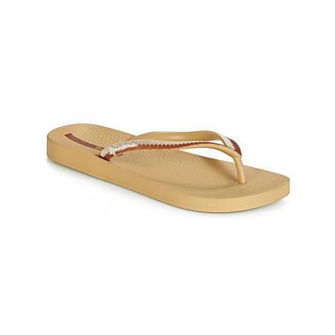 Ipanema ANAT LOVELY IX women's Flip flops / Sandals (Shoes) in Beige