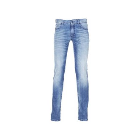 Sisley BURLUDU men's Skinny Jeans in Blue