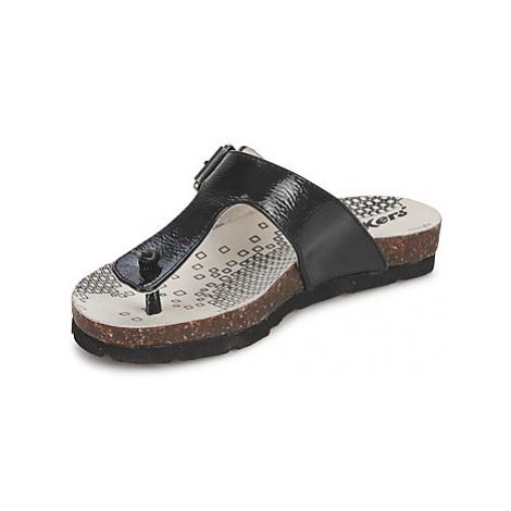 Kickers DITIK girls's Children's Flip flops / Sandals in Black