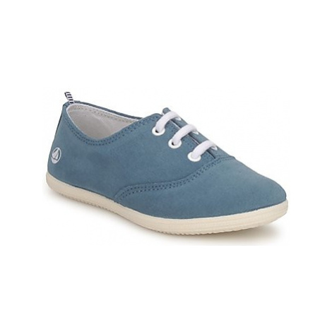 Petit Bateau KENJI GIRL girls's Children's Shoes (Trainers) in Blue
