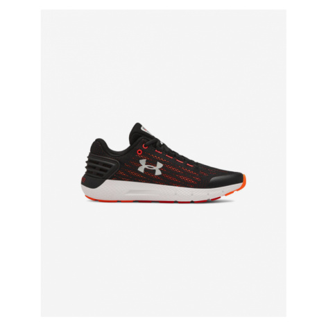 Under Armour Grade School Charged Rogue Kids sneakers Black Red