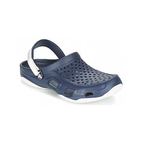 Crocs SWIFTWATER DECK CLOG men's Clogs (Shoes) in Blue