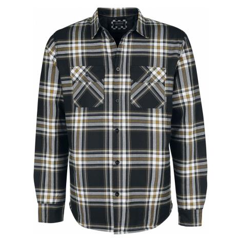 Chet Rock - Flannel Thermo-Shirt - Shirt - black-white