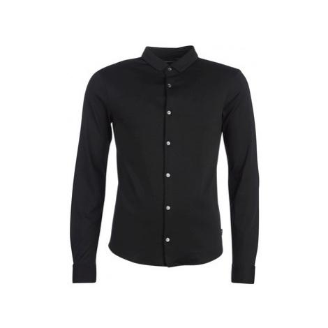 Black men's elegant shirts
